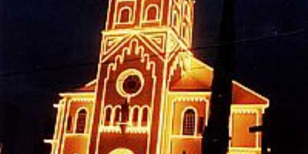 Igreja Iluminada - Canoinhas-SC