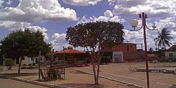 Mocambo-BA-Pracinha em Mocambo-Foto:Evirandi Auriovane Xavier Gama gama