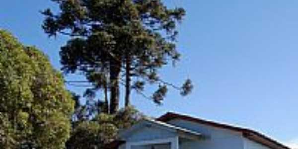 Cerro Negro-SC-Igreja de N.Sra.Aparecida na localidade da Linda Vista