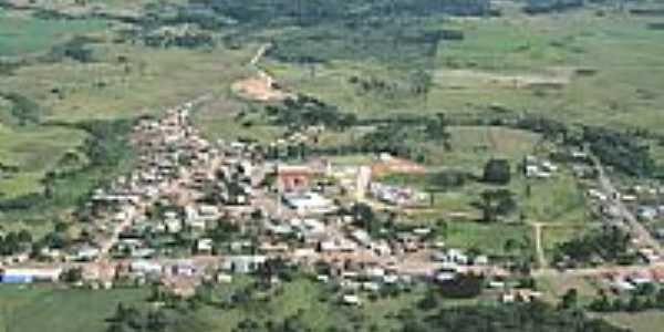 Cerro Negro-SC-Vista aérea da cidade