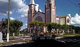 Chapec� - Catedral de Santo Ant�nio em Chapec�-Foto:Mauricio Ballarotti