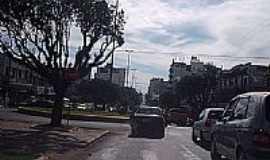 Chapecó - Centro da cidade de Chapecó-Foto:THIAGO DAMBROS