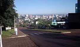 Chapecó - Vista da cidade de Chapecó-Foto:THIAGO DAMBROS