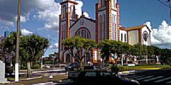 Catedral de Santo Antônio em Chapecó-Foto:Mauricio Ballarotti