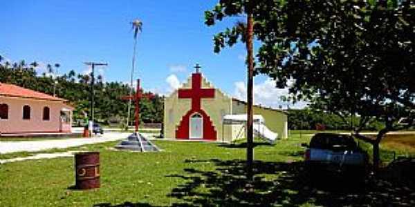 Mogiqui�aba-BA-Igreja de Mogiqui�aba-Foto:belmontebahia.commogiquicaba