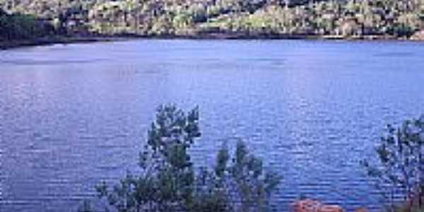 Lago em Concórdia-Foto:THIAGO DAMBROS
