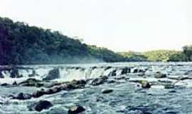 Correia Pinto - Corredeira no Rio Canoas em Correia Pinto-SC