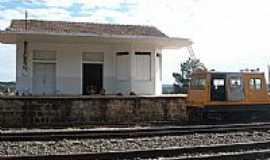 Correia Pinto - Estação Ferroviária em 2008 de Correia Pinto-SC-Foto:Alcides Goularti Filho