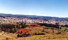 Correia Pinto - Vista da cidade e região de Correia Pinto-SC