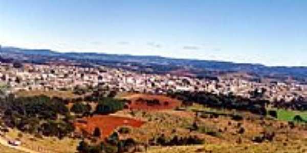 Vista da cidade e região de Correia Pinto-SC
