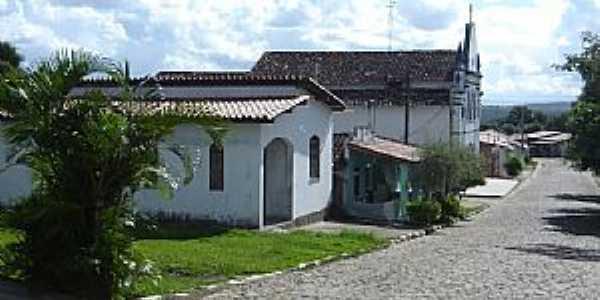 Monte Cruzeiro-BA-Rua da Igreja-Foto:Antônio Figueiredo