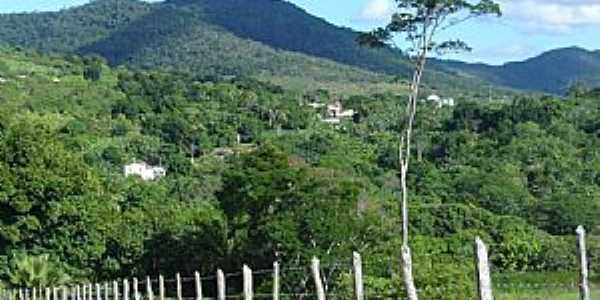 Monte Cruzeiro-BA-Serra da Jibóia-Foto:Antônio Figueiredo