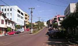 Cunha Porã - Centro da cidade-Foto:sidinei.simon