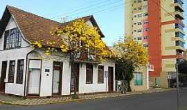 Curitibanos - Curitibanos-SC-Rua central-Foto:Wolney Cesar Felipe