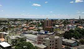 Curitibanos - Curitibanos-SC-Vista da área central-Foto:Wolney Cesar Felipe