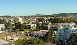 Curitibanos - Curitibanos-SC-Vista dos Prédios da Prefeitura e do Fórum-Foto:Wolney Cesar Felipe