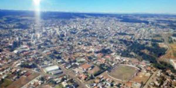 Foto Aérea Curitibanos SC, Por gilmar