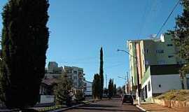 Faxinal dos Guedes - Vista de uma avenida em Faxinal dos Guedes - SC - por  Rui Barbosa José Duarte
