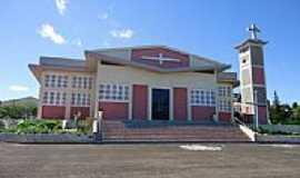 Faxinal dos Guedes - Igreja de S�o Jo�o Batista em Faxinal dos Guedes-Foto:grigolo