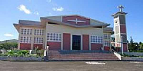Igreja de São João Batista em Faxinal dos Guedes-Foto:grigolo