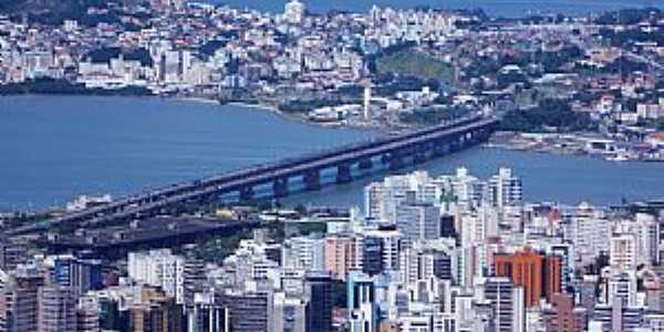 Florianópolis-SC-Pontes Colombo Salles e Pedro Ivo Campos-Foto:Sidnei Recco