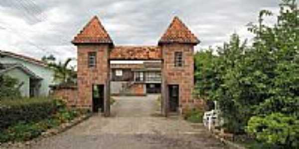 Portal de entrada do Horto Florestal-Foto:nelio bianco