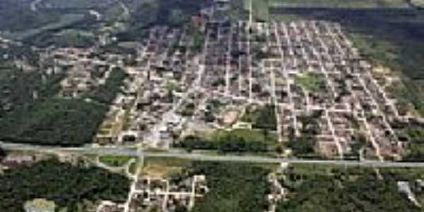 Vista aérea de Garuva-Foto: Site Prefeitura Municipal de Garuva