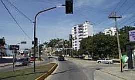 Gaspar - Rua Nereu Ramos em Gaspar-Foto:Angelo Carlos Ronchi