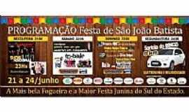 Grão Pará - FESTA DE SÃO JOÃO BATISTA EM GRÃO PARÁ Veja programação na pág. de informações.