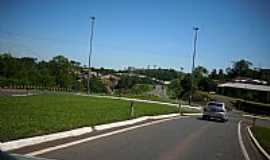 Guaraciaba - Trevo de acesso de Guaraciaba-SC-Foto:Dirceu Pereira SMO/P…