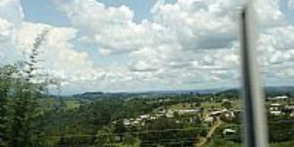 Vista da cidade de Guaraciaba-SC-Foto:Ionildo Sanches