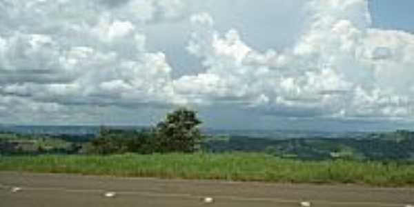 Vista da região de Guaraciaba-SC-Foto:Ionildo Sanches