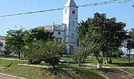Hercílio Luz - Praça e Igreja-Foto:Diogo Tchê Maneiros