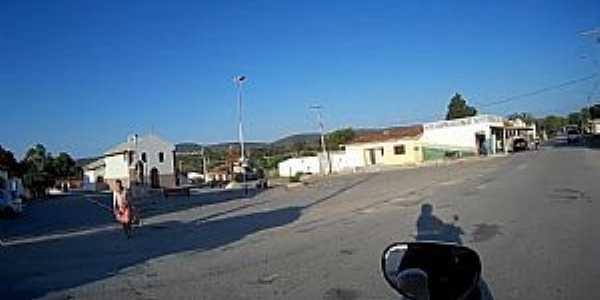 Morrinhos-BA-Centro do Povoado-Foto:flogao.com.br