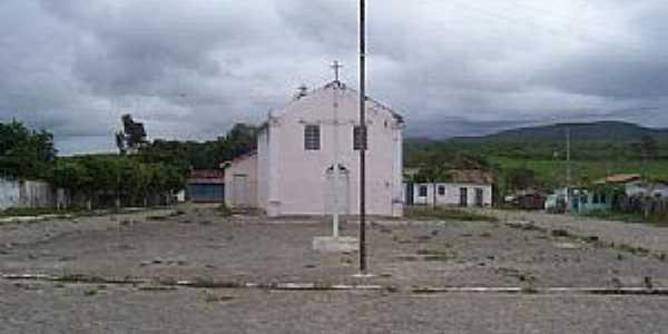 Morrinhos-BA-Igreja do Povoado-Foto:flogao.com.br
