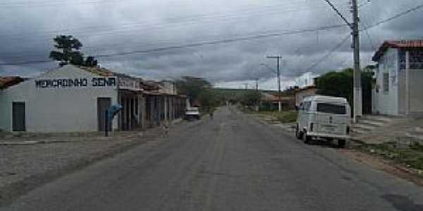 Morrinhos-BA-Rua do Povoado-Foto:flogao.com.br