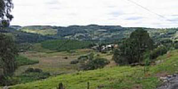 Vista de Ibicuí,Distrito de Campos Novos-Foto:Luciano R Oliveira