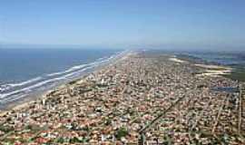 Içara - Içara-SC-Vista aérea da Praia do Rincão-Foto:facebook.com/PraiaDoRincaoIcaraSc