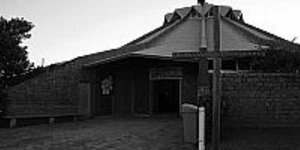 I�ara-SC-Igreja de N.Sra.dos Navegantes em Balne�rio Rinc�o-Foto:Jornal I�aresne