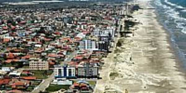 I�ara-SC-Vista a�rea da Praia do Rinc�o-Foto:facebook.com/PraiaDoRincaoIcaraSc