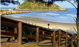 Imbituba - Imbituba-SC-Passarela para descer na Praia-Foto:Ana Maria Scarpellini