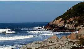 Imbituba - Imbituba-SC-Praia e Rochas-Foto:Ana Maria Scarpellini