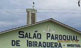 Imbituba - Imbituba-SC-Salão Paroquial no Distrito de Ibiraquera-Foto:Luiz Gaspar Leal
