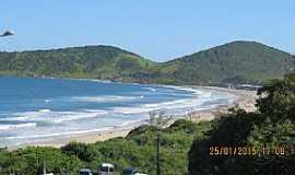 Imbituba - Imbituba-SC-Vista da Praia do Rosa-Foto:Luiz Gaspar Leal