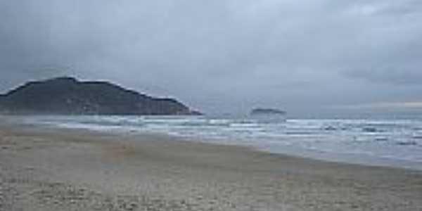 Praia do Santinho em Ingleses do Rio Vermelho-Foto:arcalado