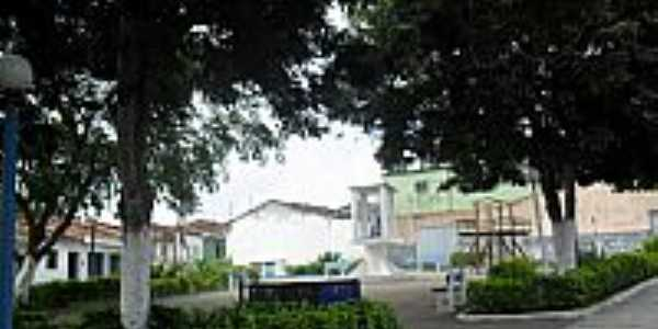 Praça Padre Cícero em Ibateguara-Foto:Sergio Falcetti