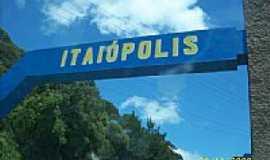 Itaiópolis - Portal de entrada de Itaiópolis-Foto:Mauro Wunderlich