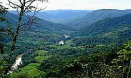Itaiópolis - Imagem do rio Itajaí (Itaiópolis, SC)