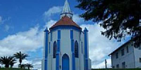Fundos da Igreja de Itaiópolis-Foto:Mauro Wunderlich