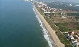Itajubá - Itajubá-SC-Praia do Centro e a cidade-Foto:Celso Lima